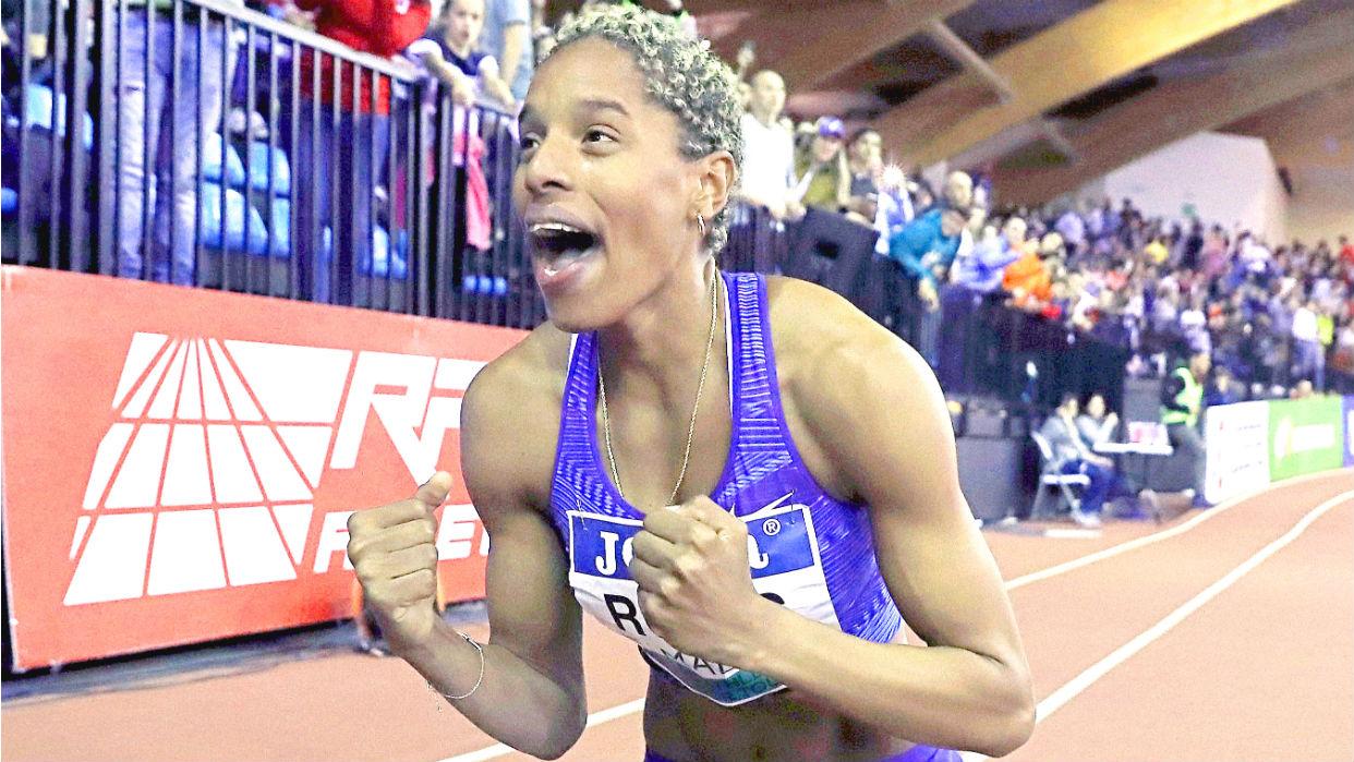 Yulimar acaba de batir un récord mundial