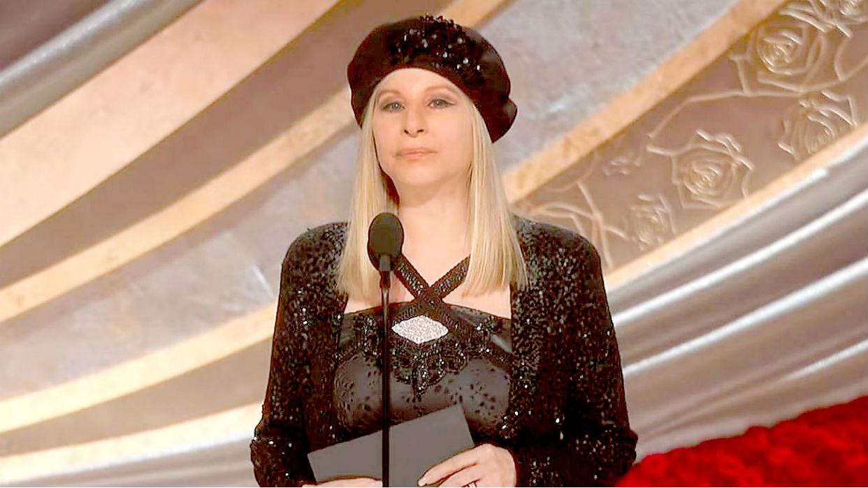 """Barbra Streisand: """"No quieren ver a una mujer directora"""""""