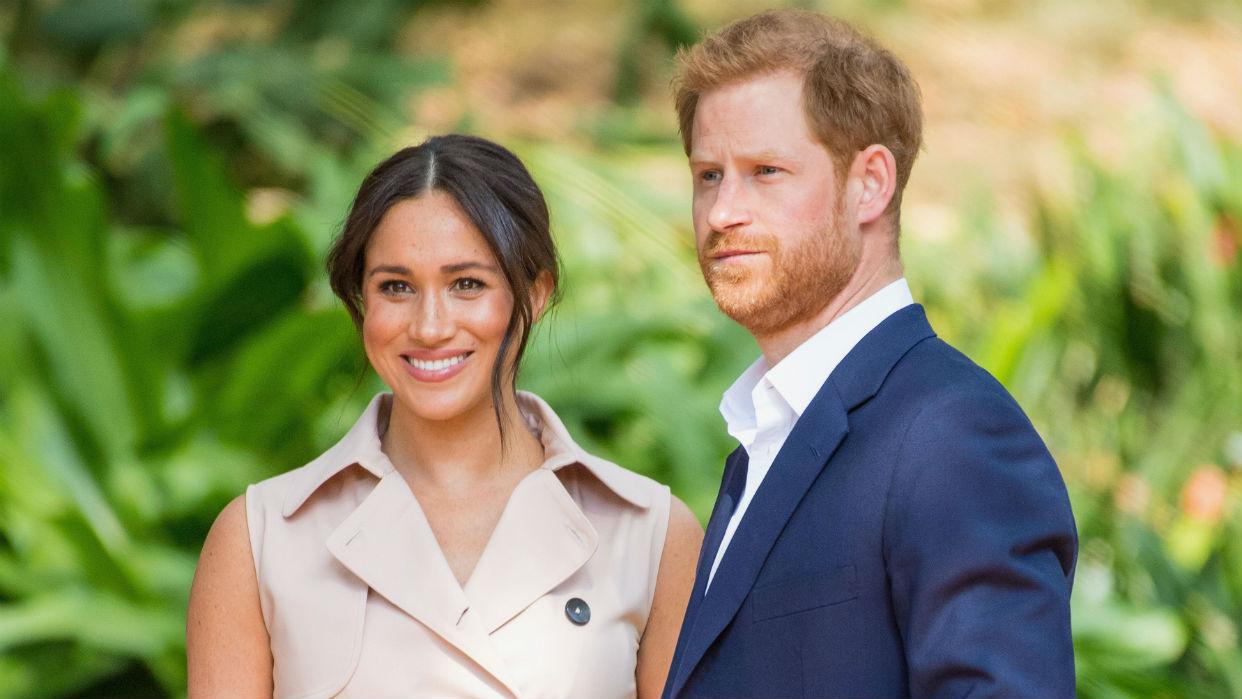 El Príncipe Harry y Meghan Markle, de 35 y 38 años respectivamente