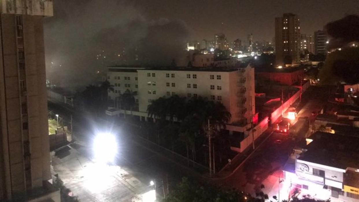 Reportan incendio en el hotel Kristoff de Maracaibo