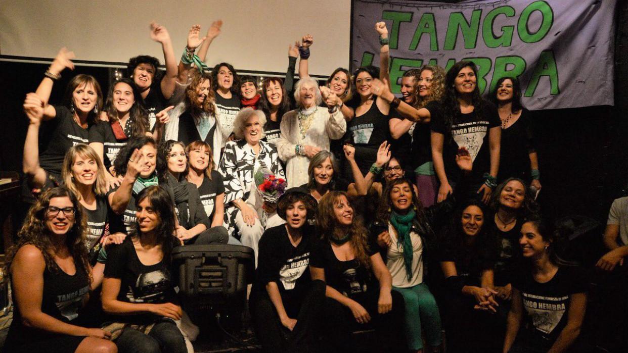 El movimiento Tango Hembra nació en 1919 / Foto Archivo