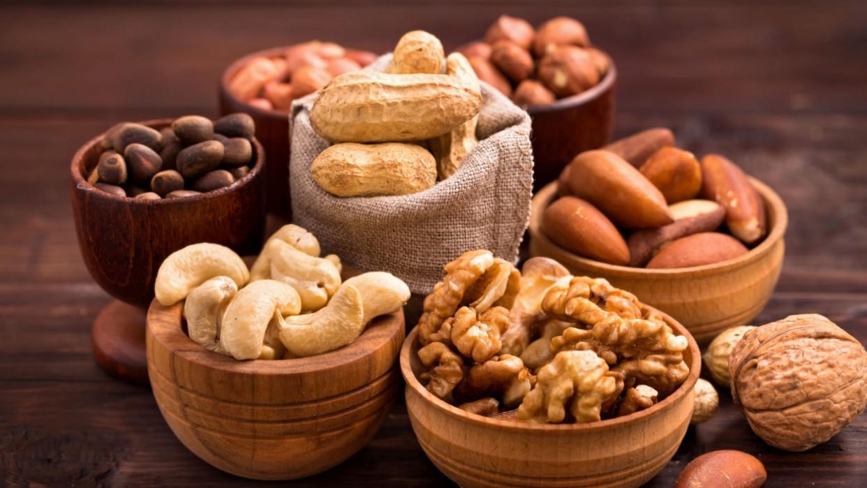 Frutos secos y semillas son alimentos contra el estrés
