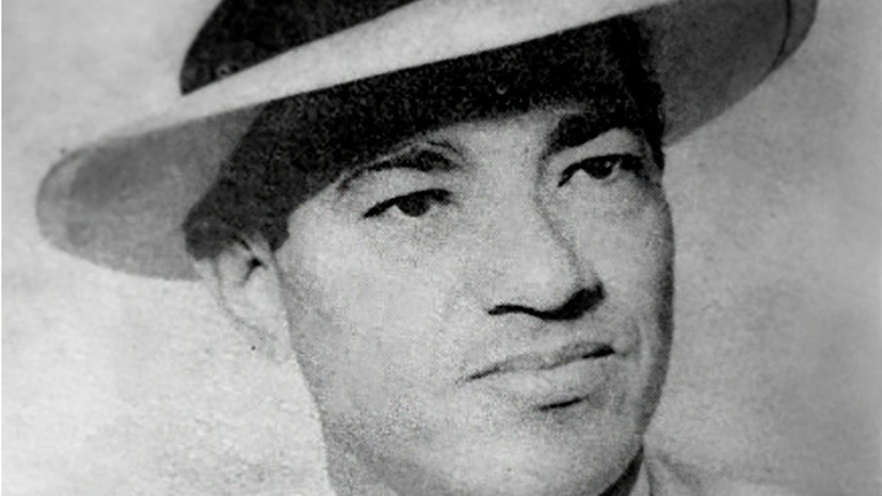 Félix Vargas Chacón en su juventud
