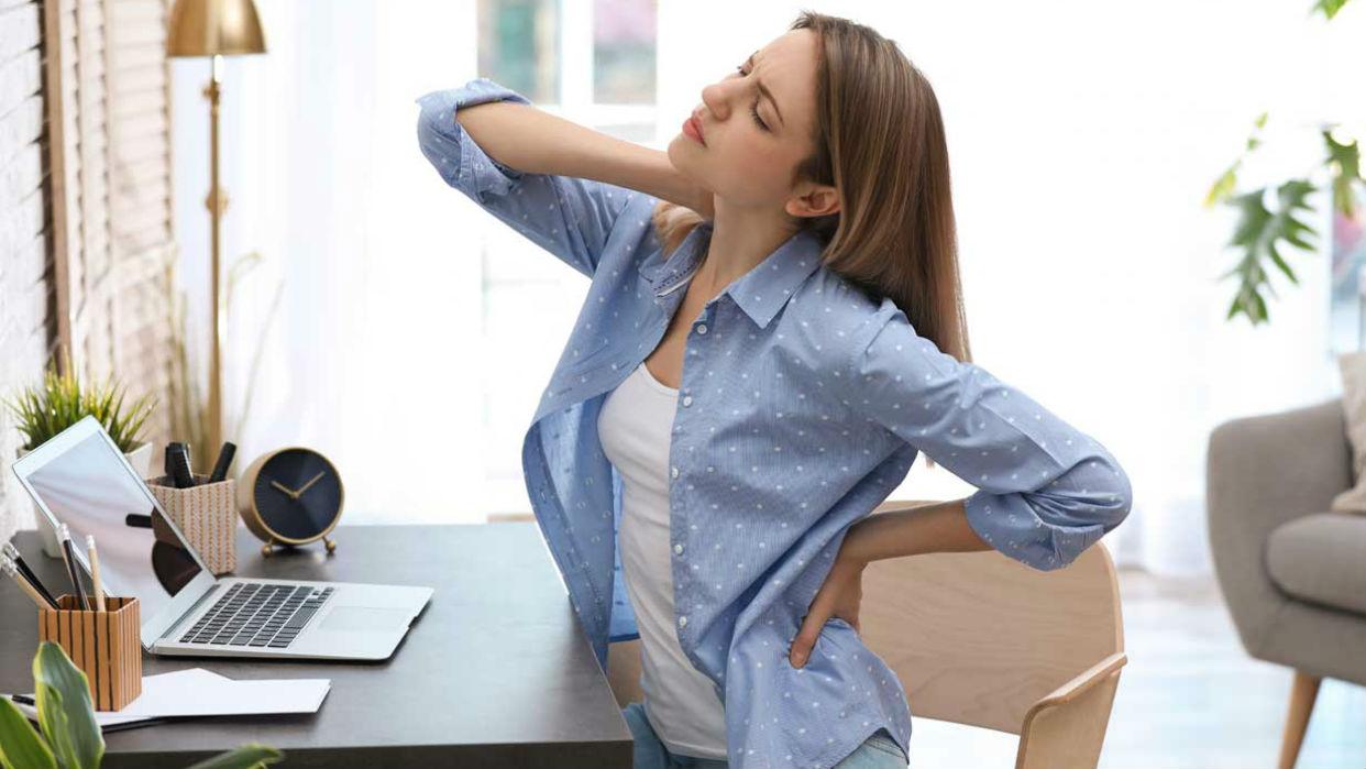 Una mala postura ocasiona trastornos músculo-esqueléticos