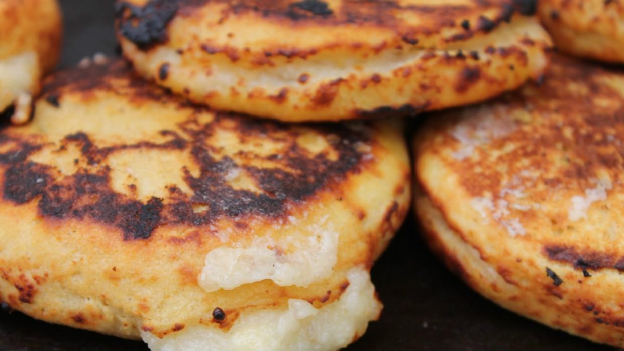 Es una deliciosa variante de nuestra tradicional arepa