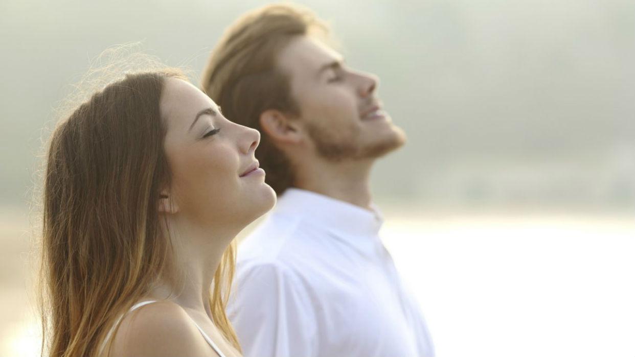 La respiración consciente ayuda a conseguir la serenidad