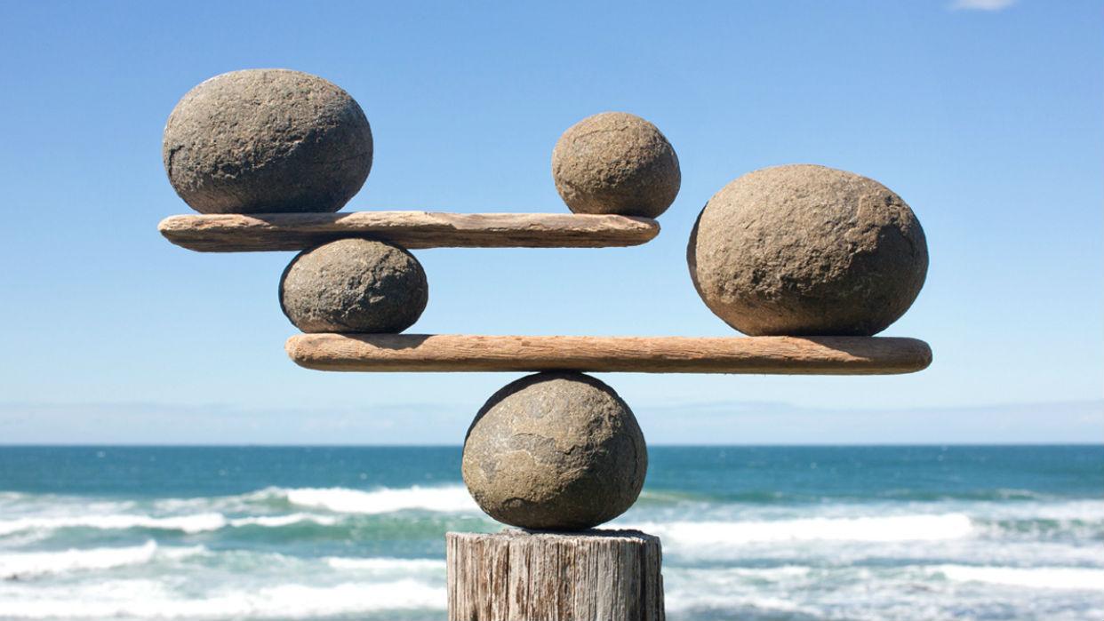 Mantenernos equilibrados produce confianza en nosotros mismos