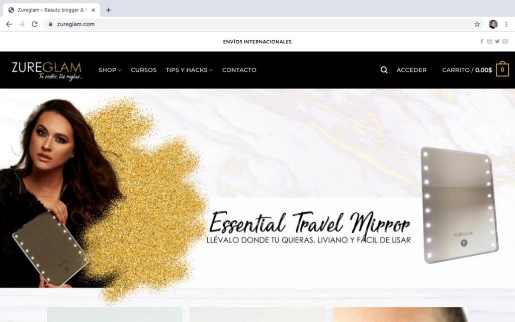 Plataforma Digital De Belleza Para La Mujer Venezolana
