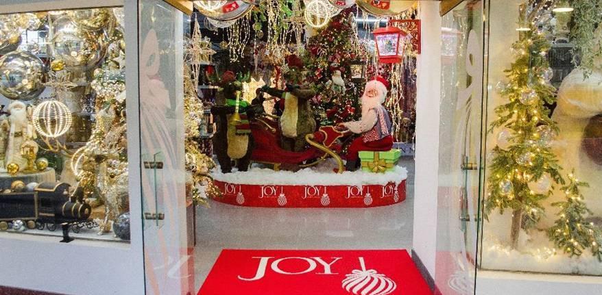 Joy se adelanta a la Navidad