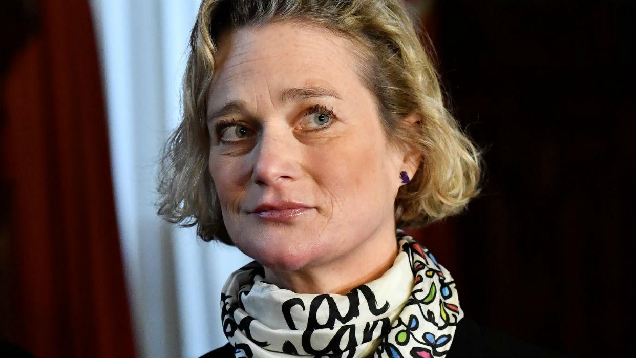 Delphine compartirá la herencia con los hijos del rey Alberto / AFP