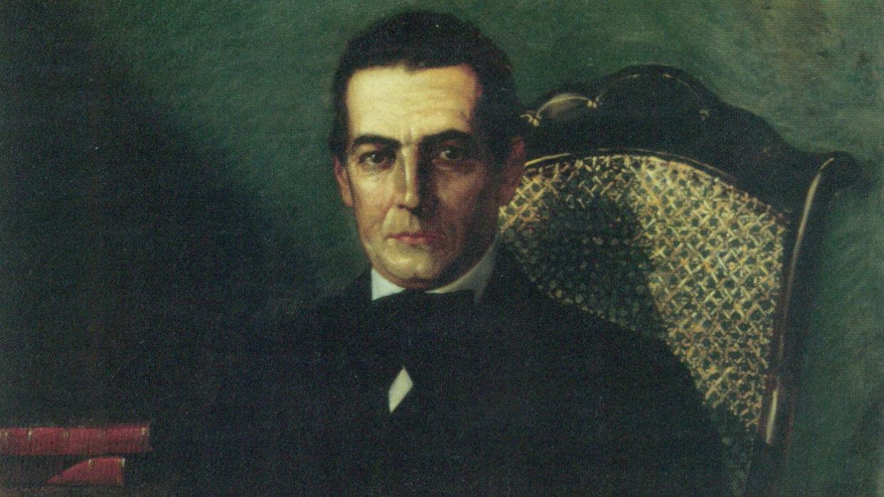 José Gregorio Monagas. Óleo sobre tela, Martín Tovar y Tovar (1874)
