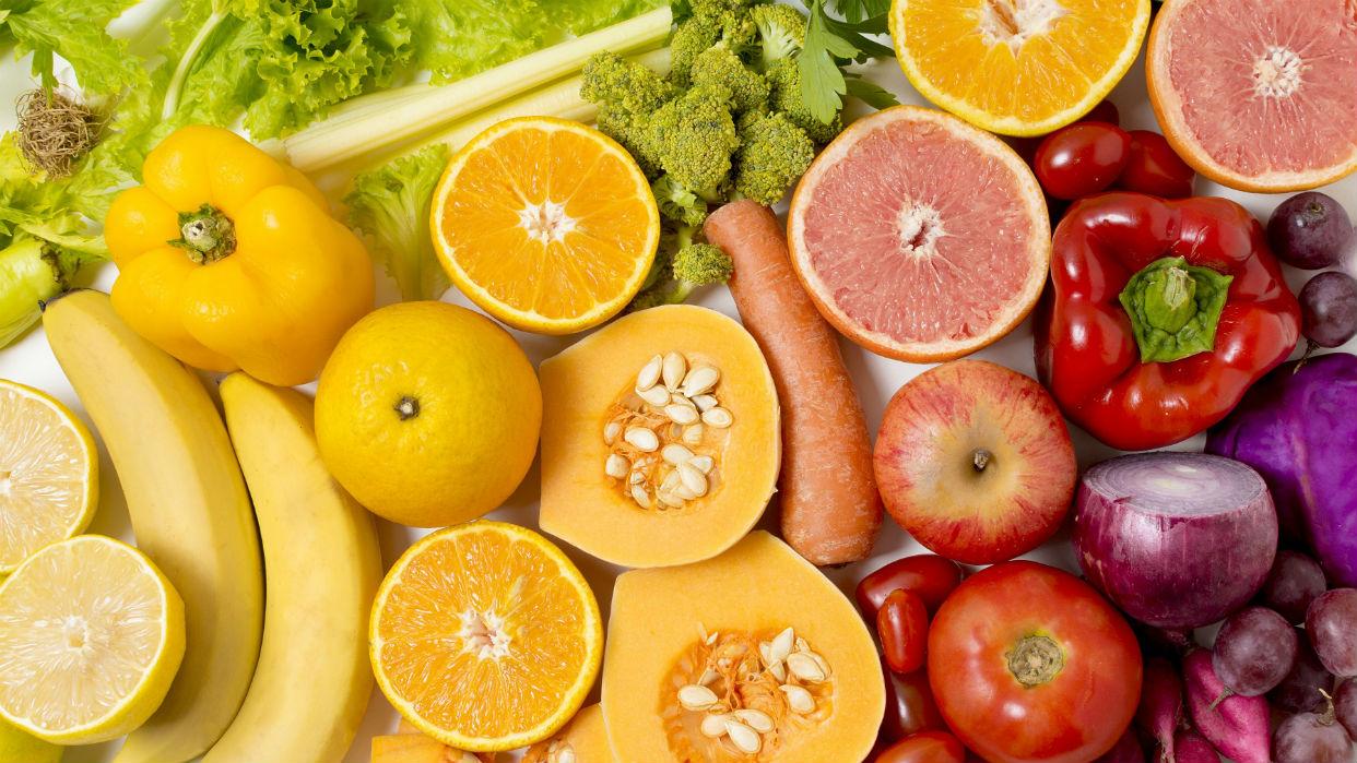 Mientras más colores hay en el plato, más nutritivo es