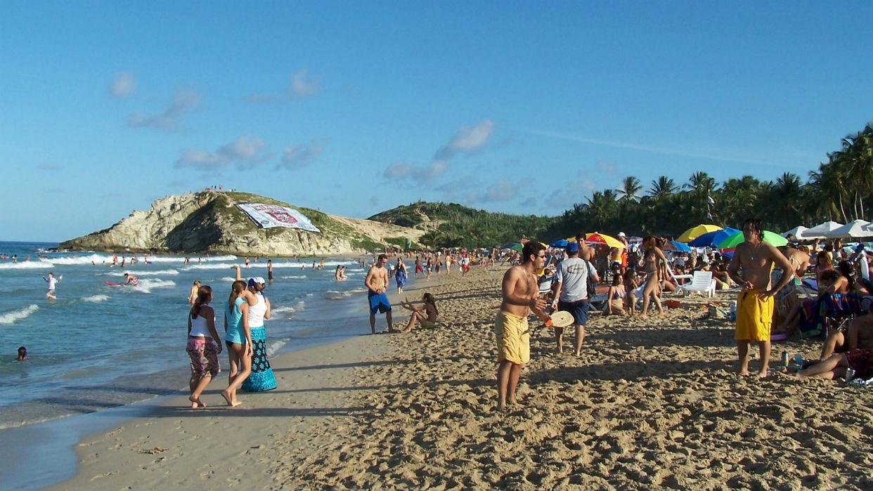 Las playas de Margarita son ideales para toda la familia