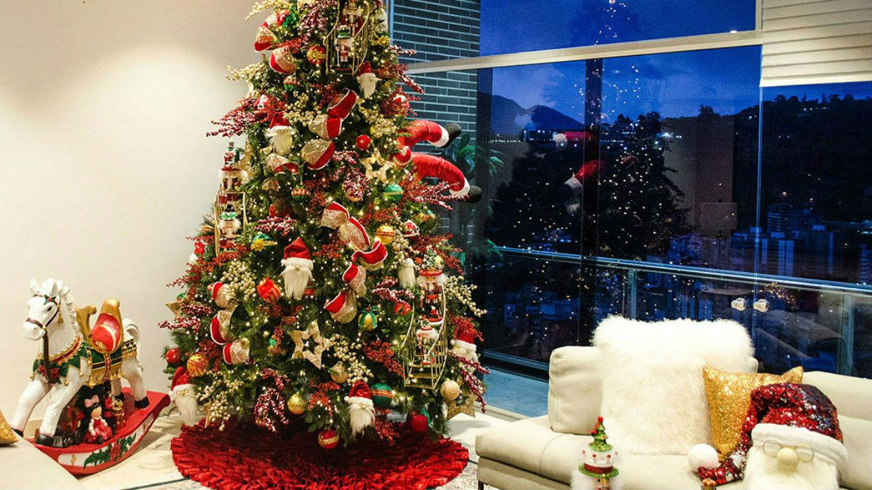 La nochebuena se viste de nuevos estilos/ decoraideas.com