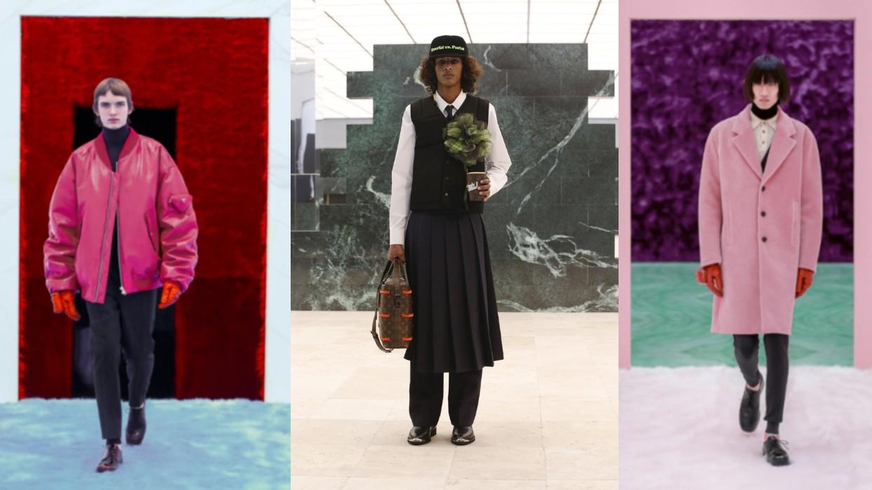 Prada, Louis Vuitton y Dior fueron otras de las grandes casas de moda