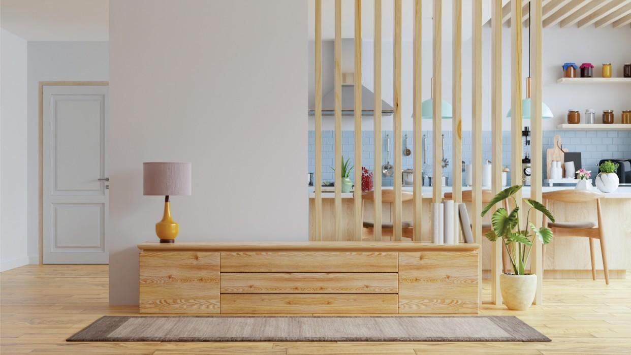 Decorar es fácil usando la madera. Fotografía Vanitjan Freepik